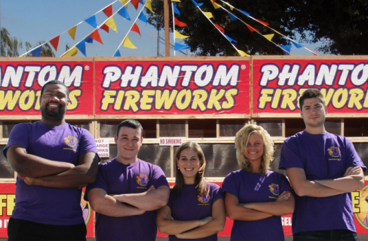 photo of phantom staff infront of a phantom stand