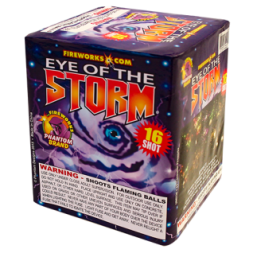 200 Gram Firework Repeater Eye of the Storm