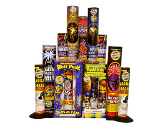 Fireworks Assortment Tube Finale Assortment