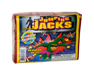 Ground Spinners Jumping Jacks